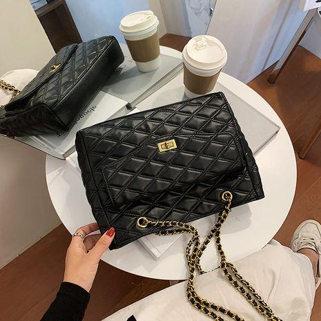 nouveau sac à bandoulière en fil brodé rhombique à la mode populaire NHJZ257131's discount tags