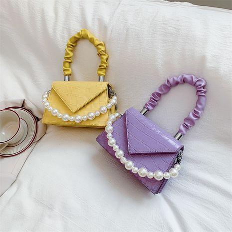 nouvelle mode perle messenger petit sac à main carré unique épaule en gros NHLH257255's discount tags