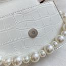 new fashion pearl messenger small square single shoulder handbag wholesale NHLH257255