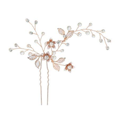 Korean beautiful handmade pearl  disc hairpin NHHS257278's discount tags