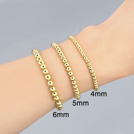 new simple handmade beaded couple bracelet wholesale  NHAS257295's discount tags
