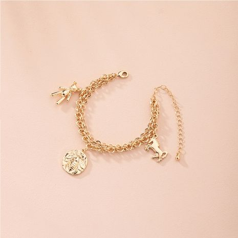 Cute animal multi-layer bracelet simple wholesale NHAI257342's discount tags