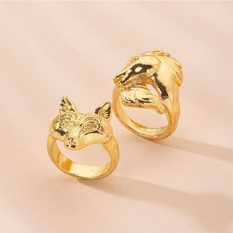 Hot selling fashion temperament metal open ring wholesale NHAI257359's discount tags