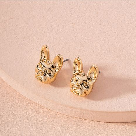 Hot selling exaggerated animal earrings three-dimensional earrings wholesale NHAI257369's discount tags