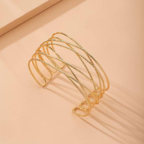 Vente chaude personnalité de la mode bracelet rétro creux en gros NHAI257373's discount tags