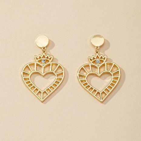 Pendientes vendedores calientes del amor del metal de la moda al por mayor NHGU257404's discount tags