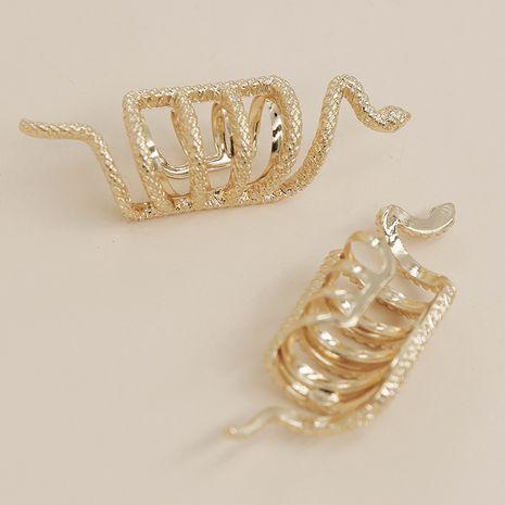 clip de hueso de oreja de serpiente de textura de metal simple NHGU257588's discount tags