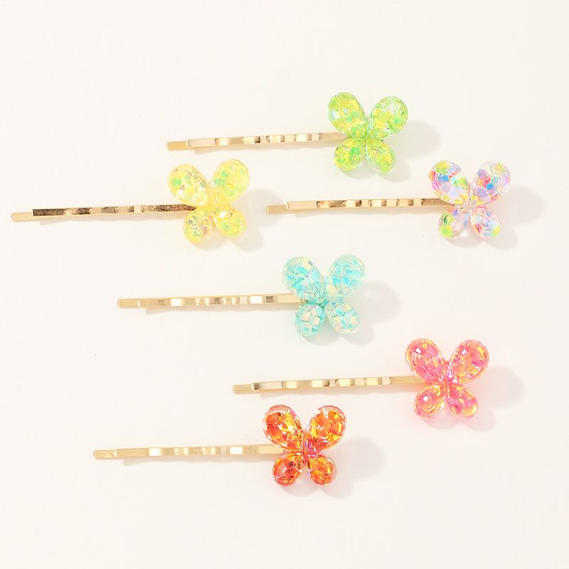 new butterfly candy color  hairpin set  NHNU257692