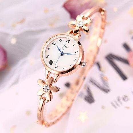 Venta caliente venta al por mayor dulce del reloj de la pulsera de la flor de la moda NHSS257695's discount tags