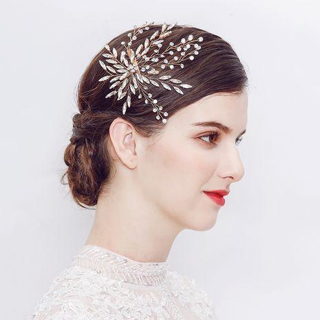 Pince à cheveux de mariée en strass de mode de vente chaude NHHS257719's discount tags