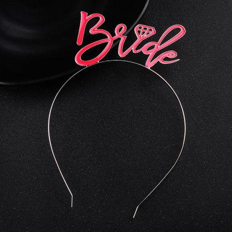 niñas cumpleaños banda para el cabello letra tocados lindos accesorios al por mayor NHHS257722's discount tags
