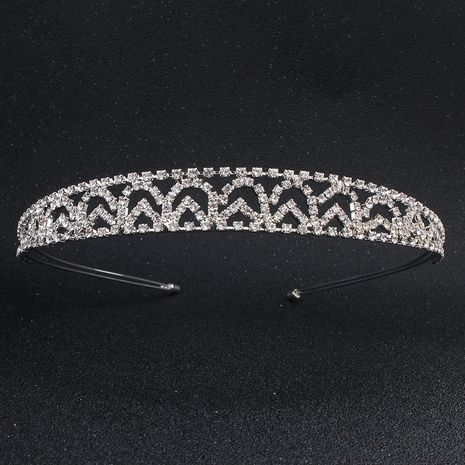 Hot selling bridal headdress alloy rhinestone headband wholesale NHHS257723's discount tags