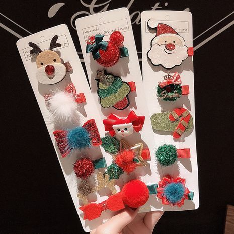 Hot selling fashion cartoon animal leather side clip wholesale NHCQ257736's discount tags