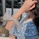 Vente chaude de chouchous de cheveux de noeud de perle de mode NHCQ257731