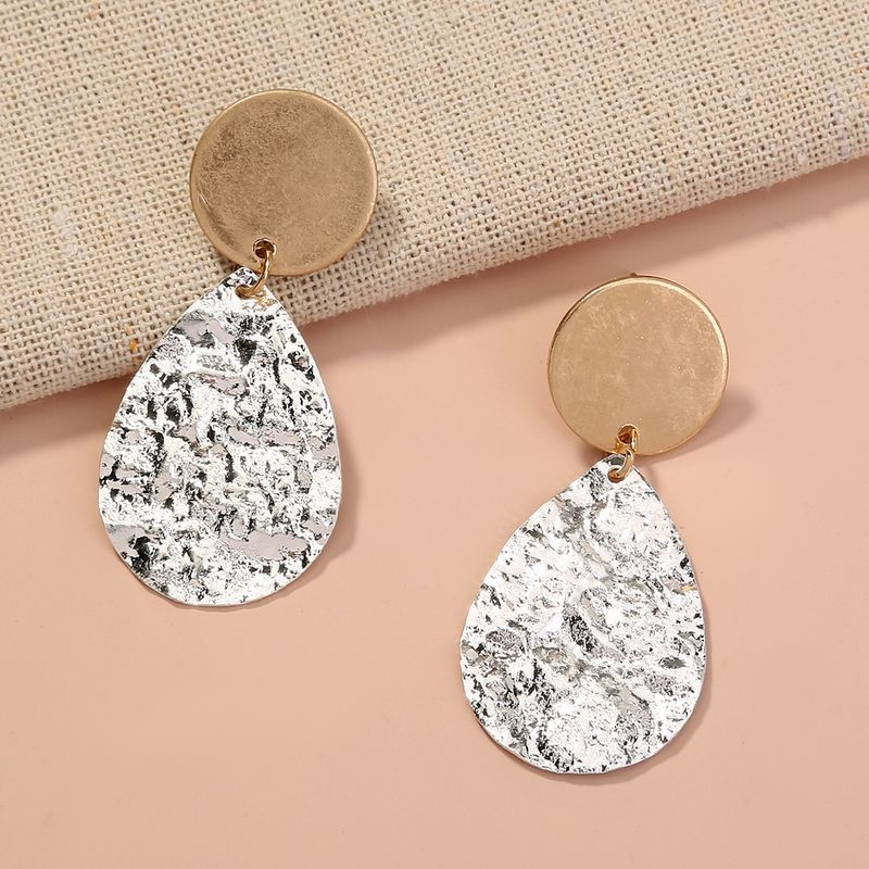 hot-selling geometric shape droplets round tassel earrings wholesale NHAN257864