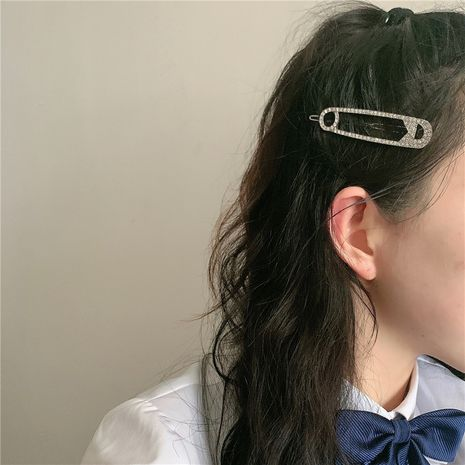 Pin side chuck top word clip pinch clip side hair clip  wholesale NHYQ257957's discount tags