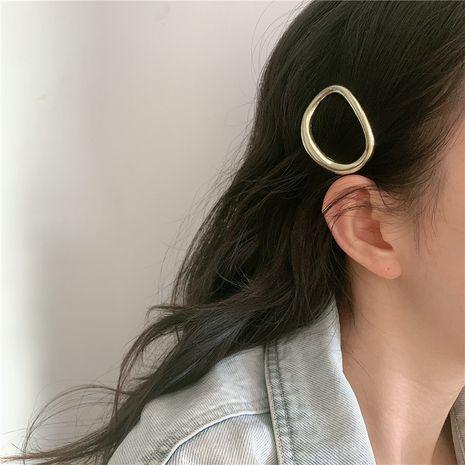 Coréen cercle en métal épingle à cheveux arrière tête clip coiffe élégant mot clip en gros NHYQ257970's discount tags