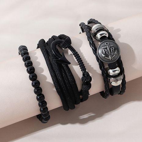 La pulsera de los nuevos hombres de moda de la aleación coreana de la moda fijó para las mujeres NHPS258109's discount tags