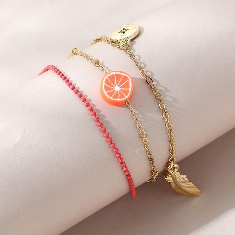 Bracelet de cheville multicouche populaire créatif sauvage coréen NHPS258135's discount tags