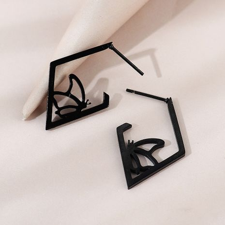 Korean  creative personality wild trend butterfly earrings NHPS258149's discount tags
