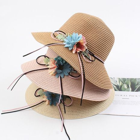 New Korean version of the sun flower hat wholesale NHXO193724's discount tags
