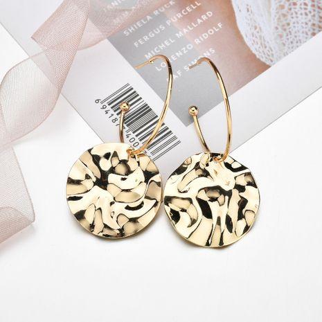 boucles d'oreilles à disque de mode simple NHBQ258380's discount tags