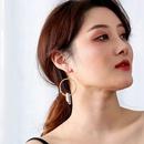 Fashion new Handmade prepared transparent natural crystal earrings for women NHAN258431