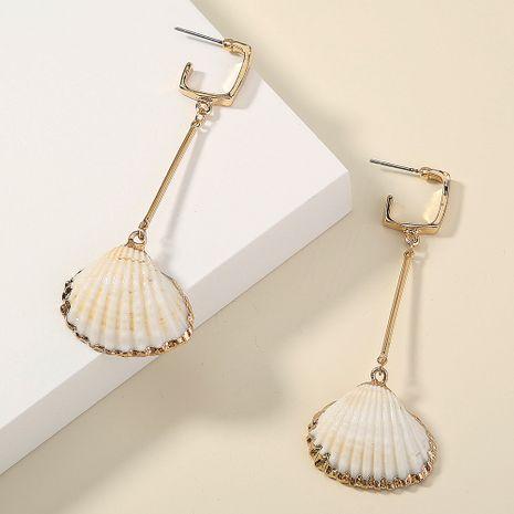 Koreanische natürliche Muschel Quaste Mode wilde einfache neue Ohrringe für Frauen NHAN258442's discount tags