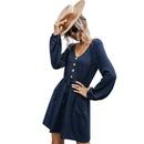 Hot selling fashion Vneck sexy womens dress wholesale  NHKA258542