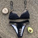 Fashion new leaf print bikini sexy split swimsuit for women hotselling  NHZO258719