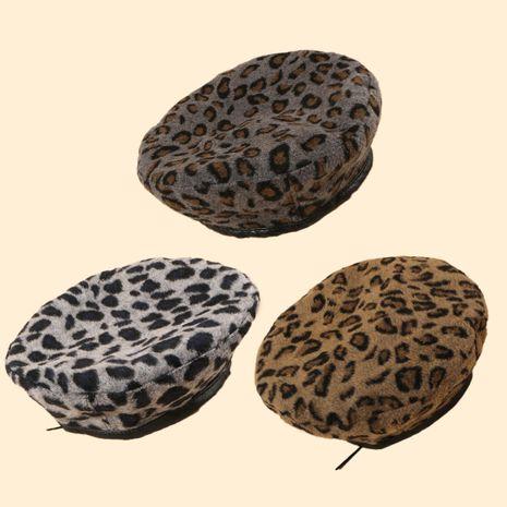 Boina retro vendedora caliente del leopardo de la moda al por mayor NHTQ258773's discount tags