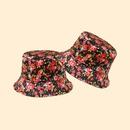 Hot selling retro fashion Fisherman hat rose flower sun hat wholesale NHTQ258786