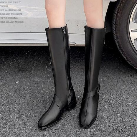 Hot selling fashion but knee brown  knight boots wholesale NHCA258839's discount tags
