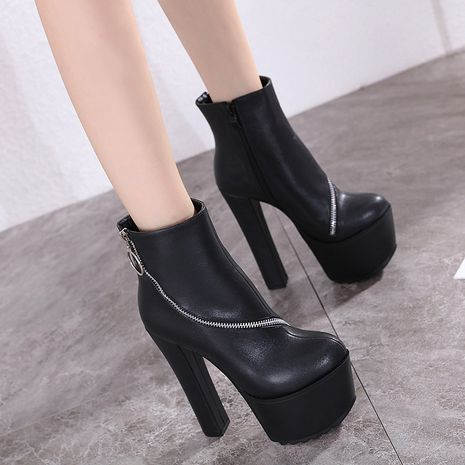 Hot selling fashion Stiletto heel boots super high heel boots NHCA258862's discount tags