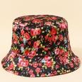 NHTQ1124911-Rose-flower-fisherman-hat-M-(56-58cm)