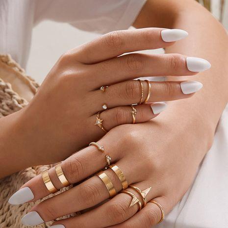 Hot selling fashion lightning ECG women's ring set  NHAJ258948's discount tags