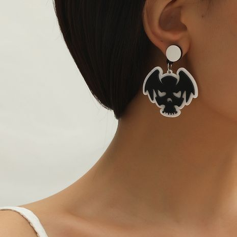 Hot selling fashion creative Halloween funny earrings   NHKQ259117's discount tags