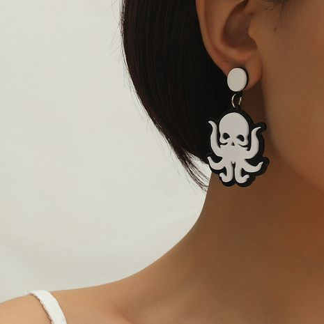 Fashion cute fun funny  creative ocean octopus earrings wholesale NHKQ259138's discount tags