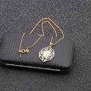 Fashion new Brazilian style golden goddess pendant Necklace for women NHYL259175