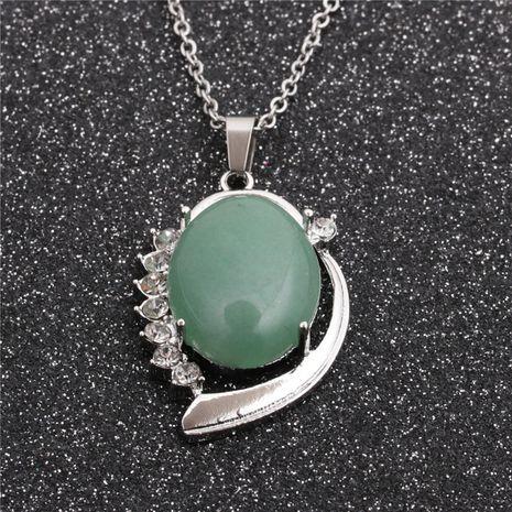 Mode créative nouveau collier pendentif chaîne en acier inoxydable de style ethnique de vente chaude NHYL259177's discount tags