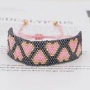 hotsaling fashion trend love rice beads braided bracelet  NHGW259228