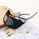 Fashion new Ethnic Style MGB Rice Bead Weaving Fatima Palm Eye Bracelet NHGW259239