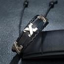 hotselling fashion new woven cowhide adjustable beaded leather bracelet NHPK259298