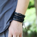 Fashion new retro woven mix and match jewelry simple multilayer adjustable  bracelet NHPK259303
