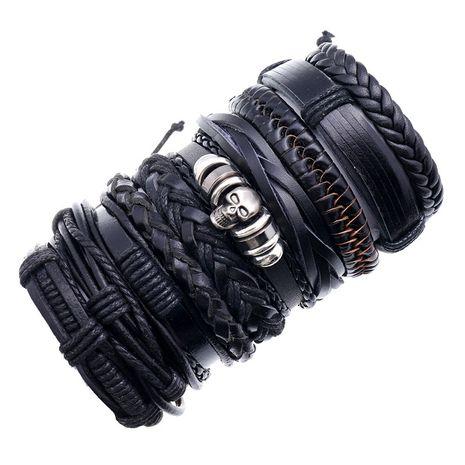 Fashion new retro woven mix  match simple multi-layer adjustable  bracelet NHPK259324's discount tags