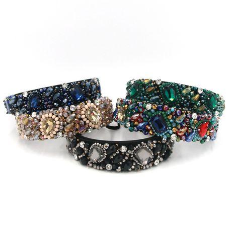 Vente en gros de bandeau en cristal de mode NHCO259353's discount tags