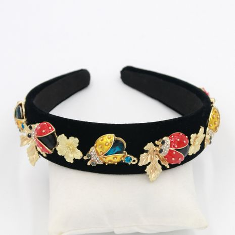 Hot selling retro animal still alloy metal headband geometric headband  NHCO259366's discount tags