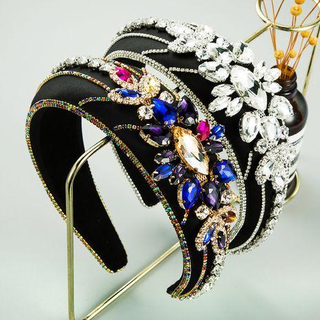 Hot selling fashion full diamond headband wholesale NHLN259378's discount tags