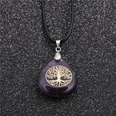 NHYL1127923-Wax-rope-and-amethyst-tree-of-life-pendant