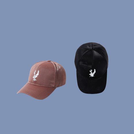 Gorras vendedoras calientes del color sólido de la protección solar de la gorra de béisbol de la cabeza de ciervo al por mayor NHTQ258776's discount tags